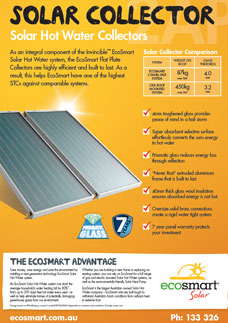 Solar Collector Solar Hot Water Collectors